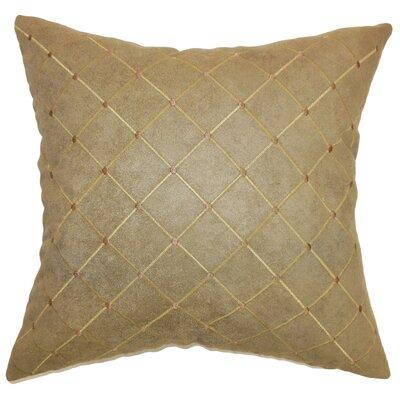 Arlo Faux Leather Throw Pillow