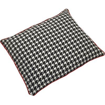 Houndstooth Pet Mat Size: Medium (29 W x 37 D)