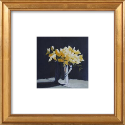 Yellow Freesia Framed Giclee Print, Artfully Walls