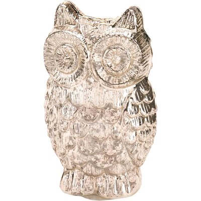 Glass Owl Figurine 10015866