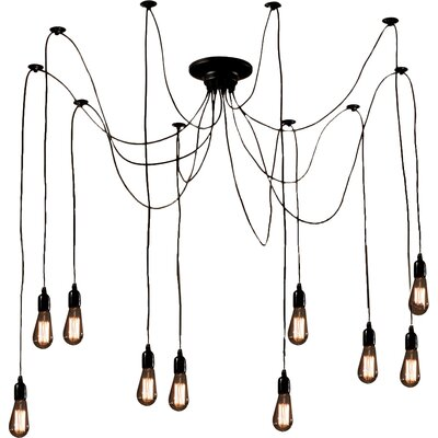 Willa 10-Light Cascade Pendant