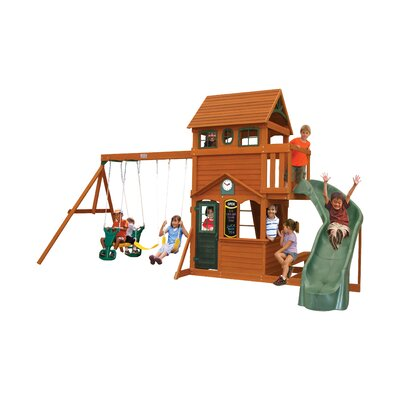 Ashberry Wooden Swing Set F23073