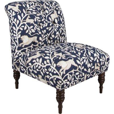 Kimberly Tufted Polyurethane Slipper Chair