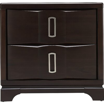 Tello Nightstand in Deep Coffee