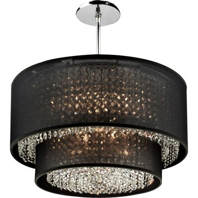 Diana 6-Light Crystal Chandelier