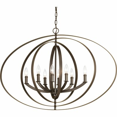 Morganti 8-Light Foyer Pendant Finish: Antique Bronze