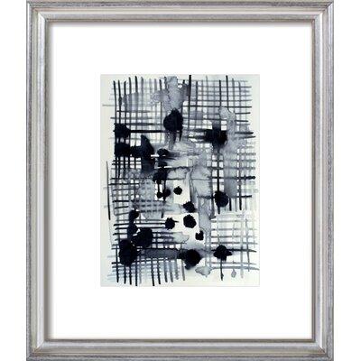Crosshatch Framed Giclee Print, Artfully Walls