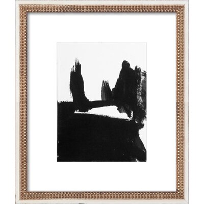 Landscape Of Field And Cypress Trees Framed Giclee Print, Artfully Walls
