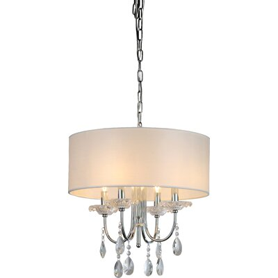 Nina 4-Light Drum Chandelier