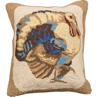 Turkey Cotton Throw Pillow