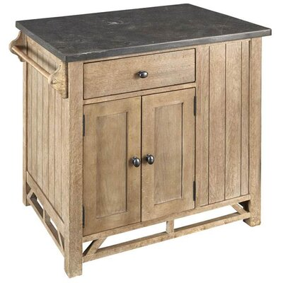 Firenze Kitchen Island with Stone Top