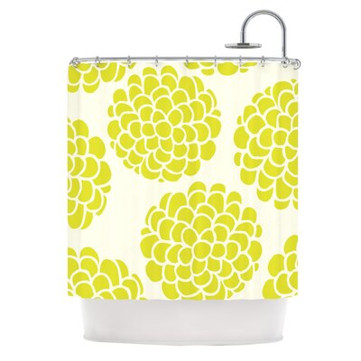 Grape Blossoms Shower Curtain