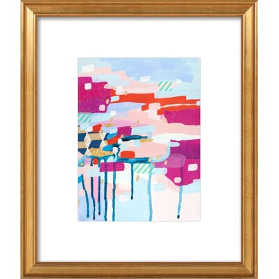 Asking for Directions Framed Print, Artfully Walls Size: 22 H x 18 W