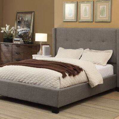 Madeleine Upholstered Panel Bed Size: California King