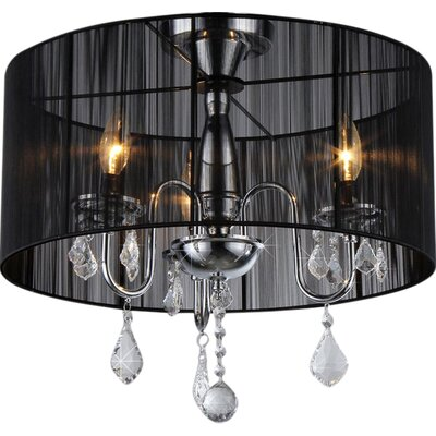 Rory 3-Light Drum Chandelier