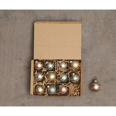 12 Piece Linda Ornament Set (Set of 8) XC5561