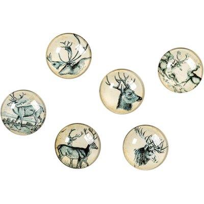 6 Piece Deer Sculpture Set E13907