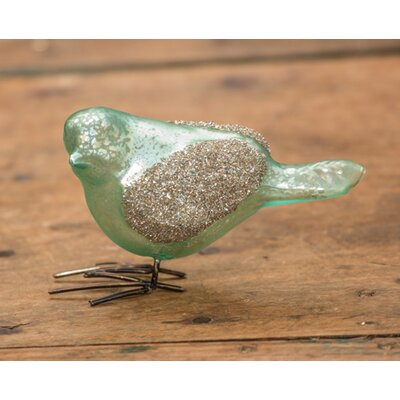 Glitter Sparrow Decor (Set of 2) 13688