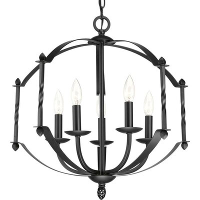 Brii 5-Light Candle-Style Chandelier