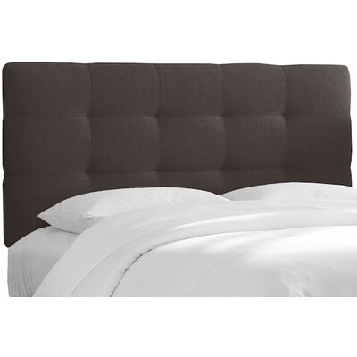 Bailey Tufted Linen Upholstered Headboard Size: King