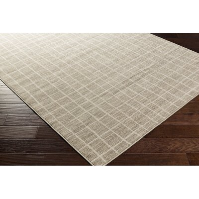 Kamden Tan/White Area Rug