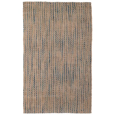 Malina Jute/Sisal Brown Area Rug Rug Size: Rectangle 5 x 8