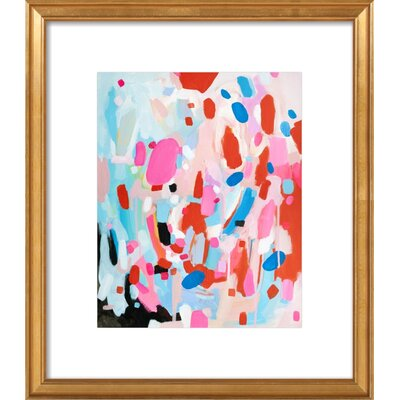 Something Wonderful Framed Giclee Print, Artfully Walls Size: 21 H x 18 W