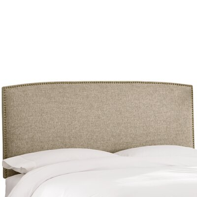 Bridgette Upholstered Panel Headboard Size: King