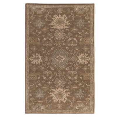 Whittaker Brown Area Rug Rug Size: Oval 6 x 9
