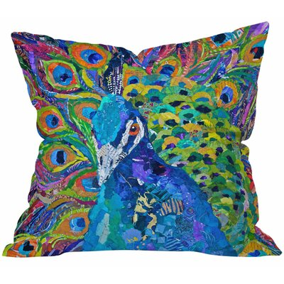 Elizabeth St Hilaire Nelson Cacophony of Color Throw Pillow Size: 18 H x 18 W
