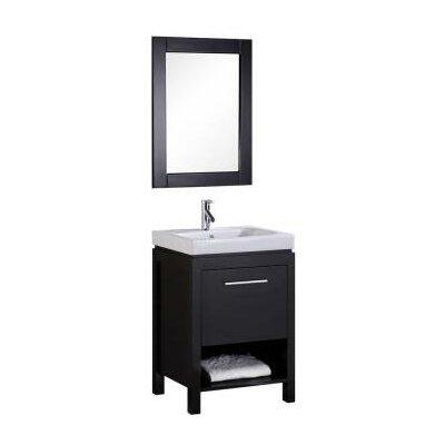 Oakley 24 Single Bathroom Vanity Set with Mirror