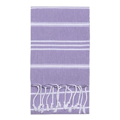 Stripe Hand Towel Color: Lavender