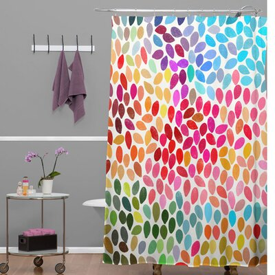 Garima Dhawan Dots Rain Shower Curtain