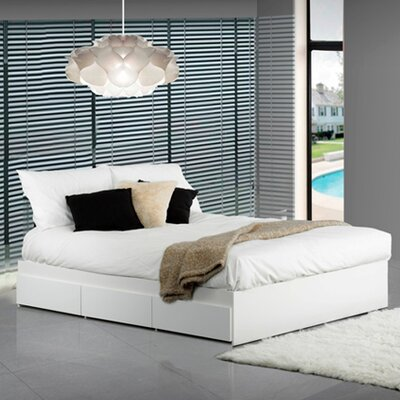 Chelsey Platform Bed with Storage Size: Full