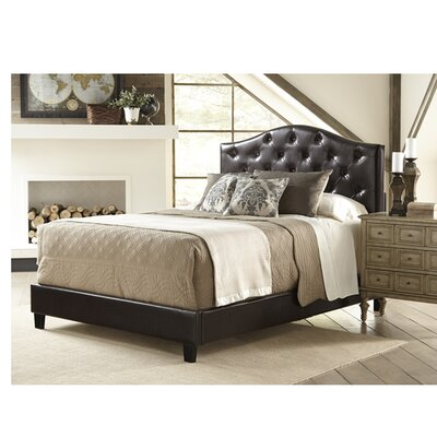 All-N-One Queen Upholstered Panel Bed