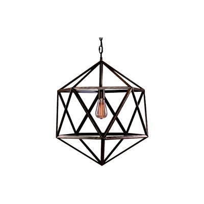 Champlain 1-Light Geometric Pendant