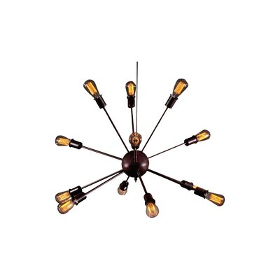 Warehouse of Tiffany Wyatt 12-Light Sputnik Chandelier LD4023