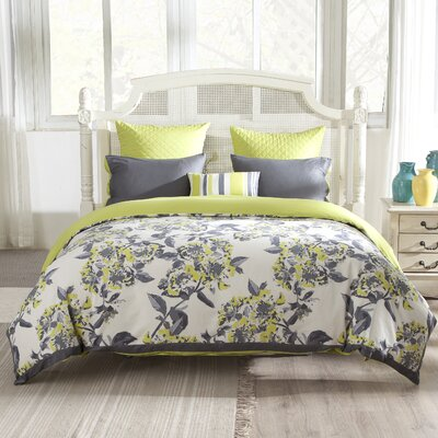 Etta 3 Piece Duvet Cover Set Size: King