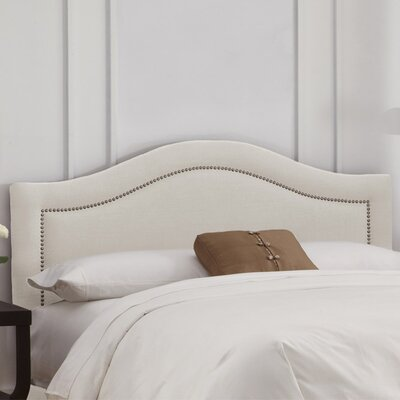 Clarita Linen Upholstered Headboard Size: King