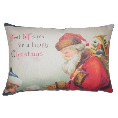 Best Wishes Cotton Lumbar Pillow