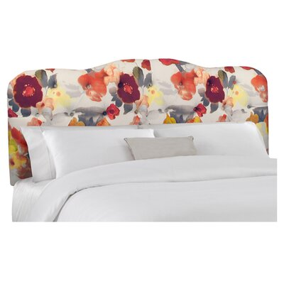 Paradiso Upholstered Panel Headboard Size: California King