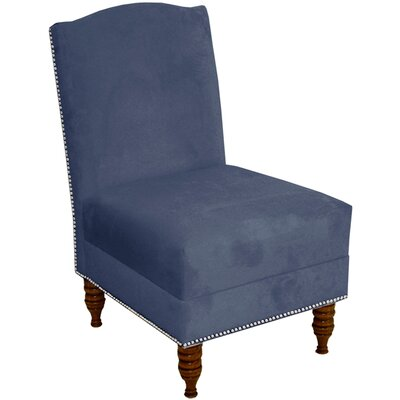 Cecilia Slipper Chair Upholstery: Regal Ocean