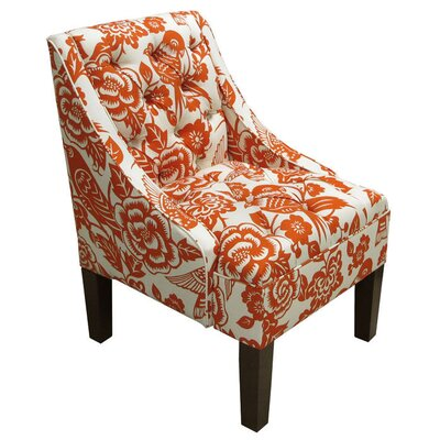 Beatrice Tufted Cotton Arm Chair
