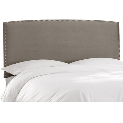 Mara Upholstered Panel Headboard Size: Twin