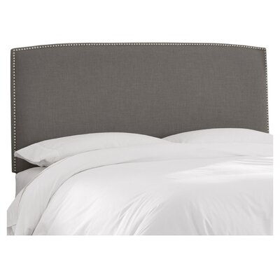 Mara Linen Upholstered Headboard Size: King