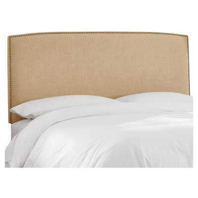Mara Linen Upholstered Headboard Size: Twin