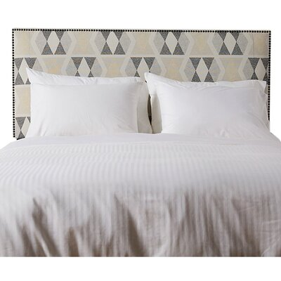 Lola Polyester Upholstered Headboard Size: Queen