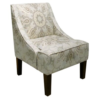 Isma Linen and Viscose Arm Chair