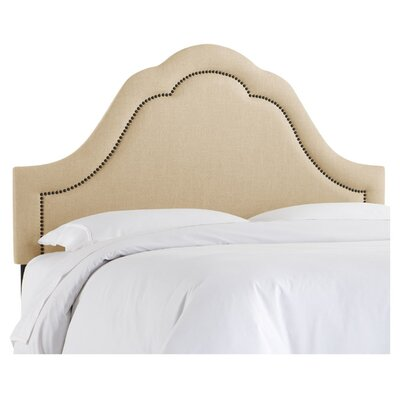 Andrea Linen Upholstered Headboard Size: King