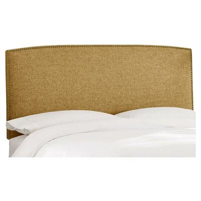 Mara Regal Fabric Upholstered Headboard Size: Queen